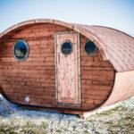 Das ovale Saunafass