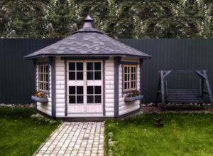 Grillpavillon Victoria 6,5 m²