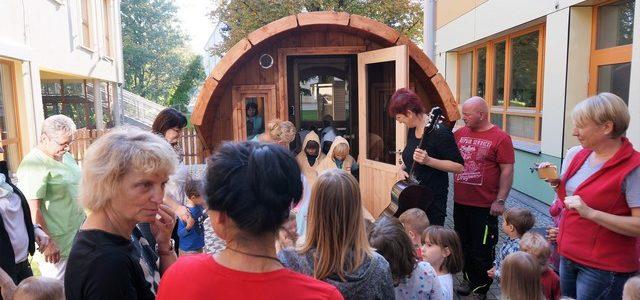 Sauna für Kindergarten