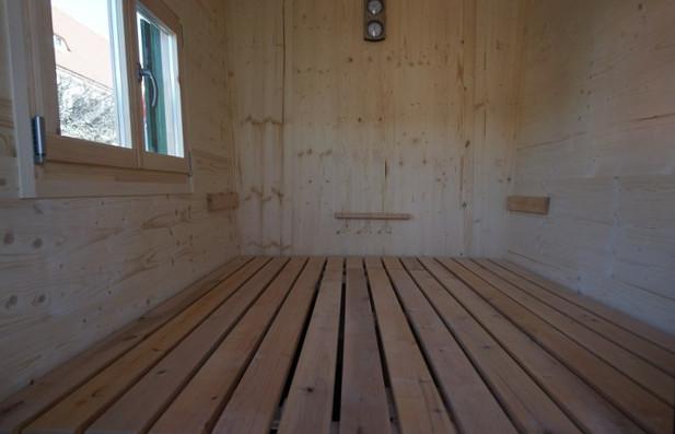 Sauna-Schaeferwagen