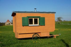 Schaeferwagen-Sauna