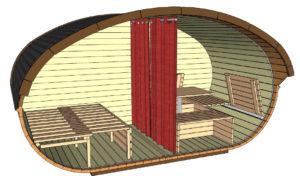 Campingfass Ovaali