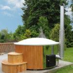 Badezuber LUX mit integriertem Ofen