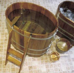 Sauna-Tauchbottich Kambala für Innenbereich
