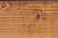 Beispiel für die Lasurfarbe Hellbraun.
