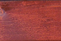 Beispiel für die Lasurfarbe Skandirot.