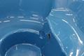 GFK Einsatz in der Farbe Blau